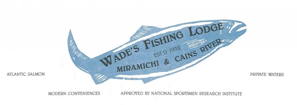 9 Wade's Fishing Lodge Letterhead