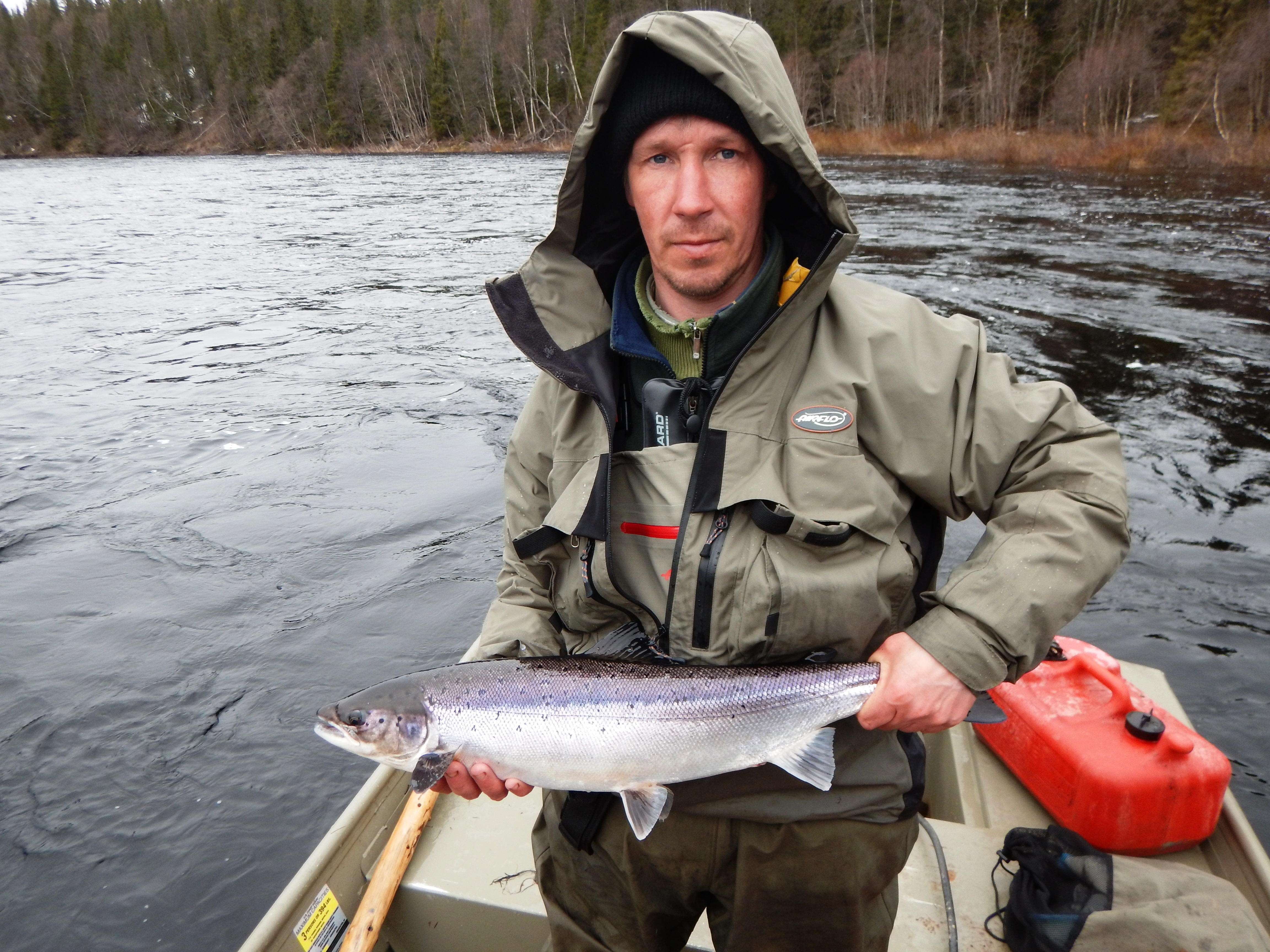 Russian atlantic salmon fishing a cold beginning for Atlantic salmon fishing